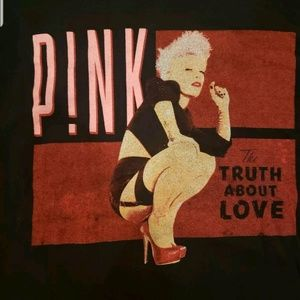 Other - Pink Tour Shirt The Truth About Love 2013 pop